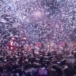 Pokazy confetti na koncertach i eventach