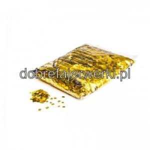 confetti metalizowane rozne kształty