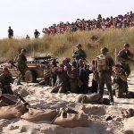 Inscenizacje historyczne na helskiej plaży wraz z zespołem S-PIRO – czyli D – Day Hel 2016