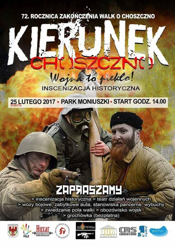 Choszczno 72 Plakat